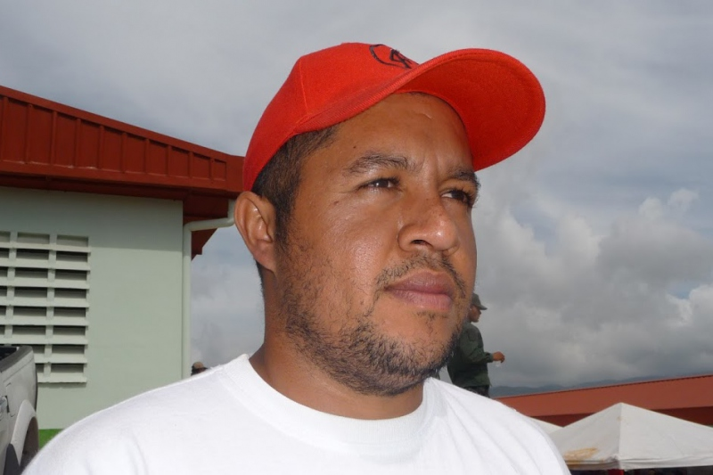 Communal leader Angel Prado